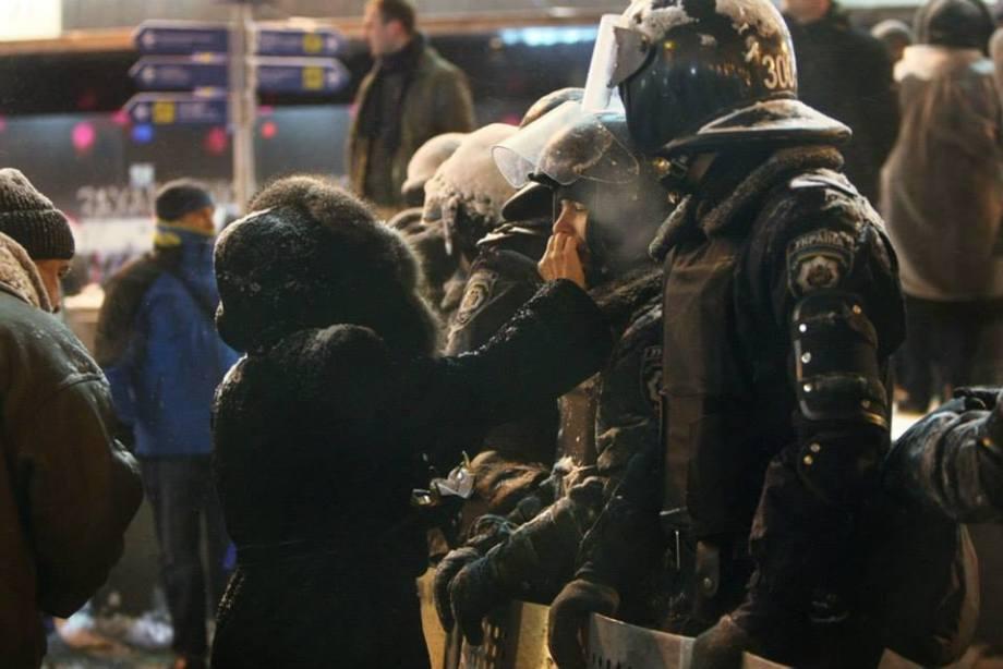 Жінка турбується про міліціонера